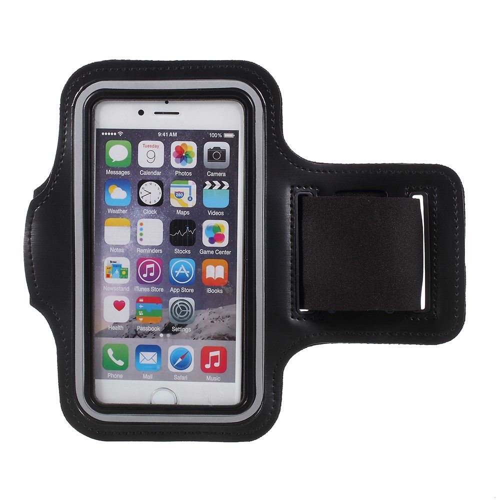 Image of   iPhone 8/7/6/6s - Sports / Løbe armbånd - Sort