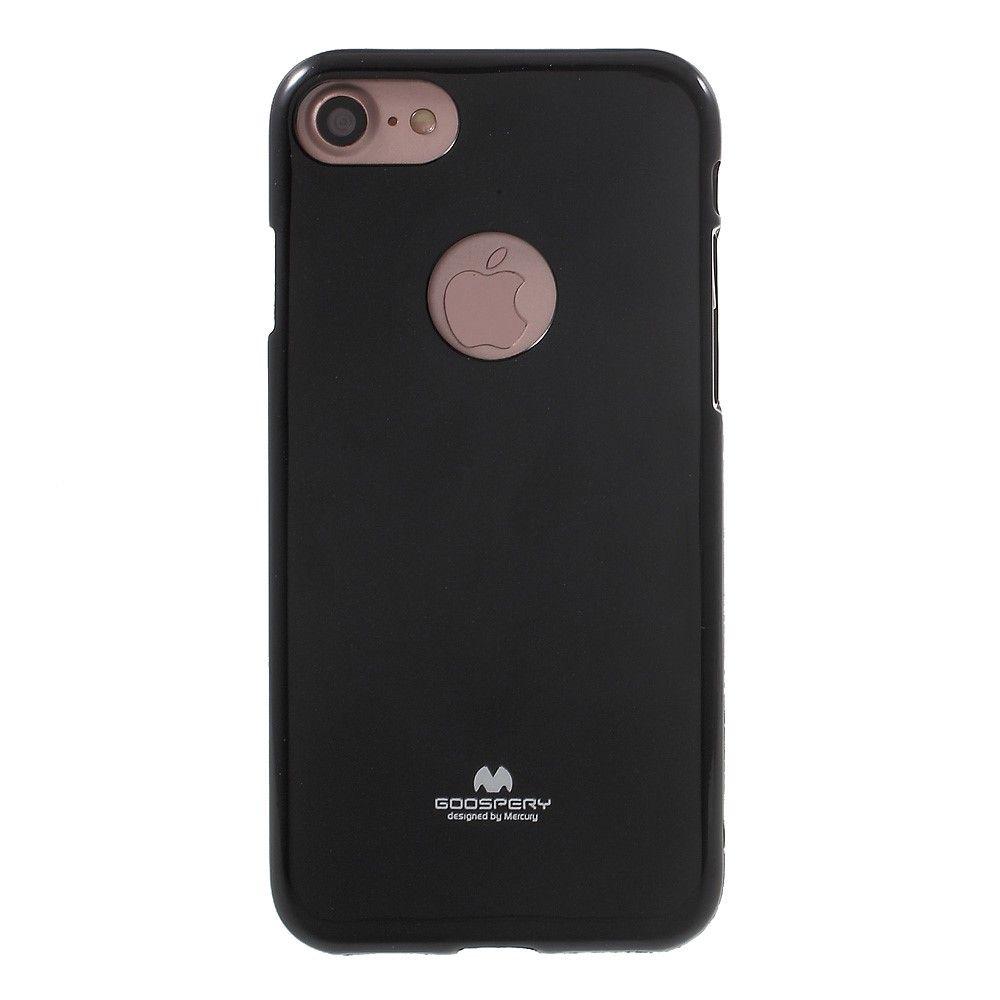 Image of   iPhone 8/7 - MERCURY GOOSPERY Jelly TPU cover - Sort