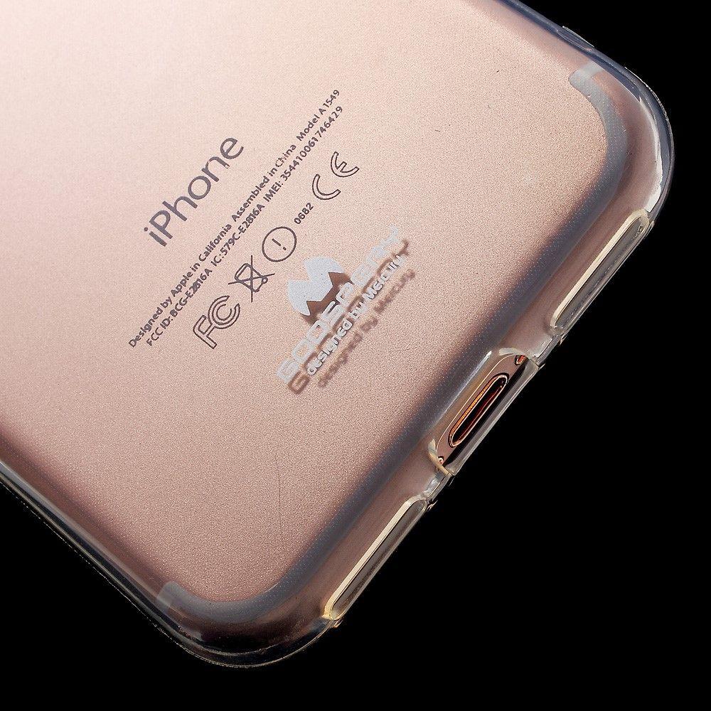 Image of   iPhone 8/7 - MERCURY GOOSPERY Jelly TPU cover