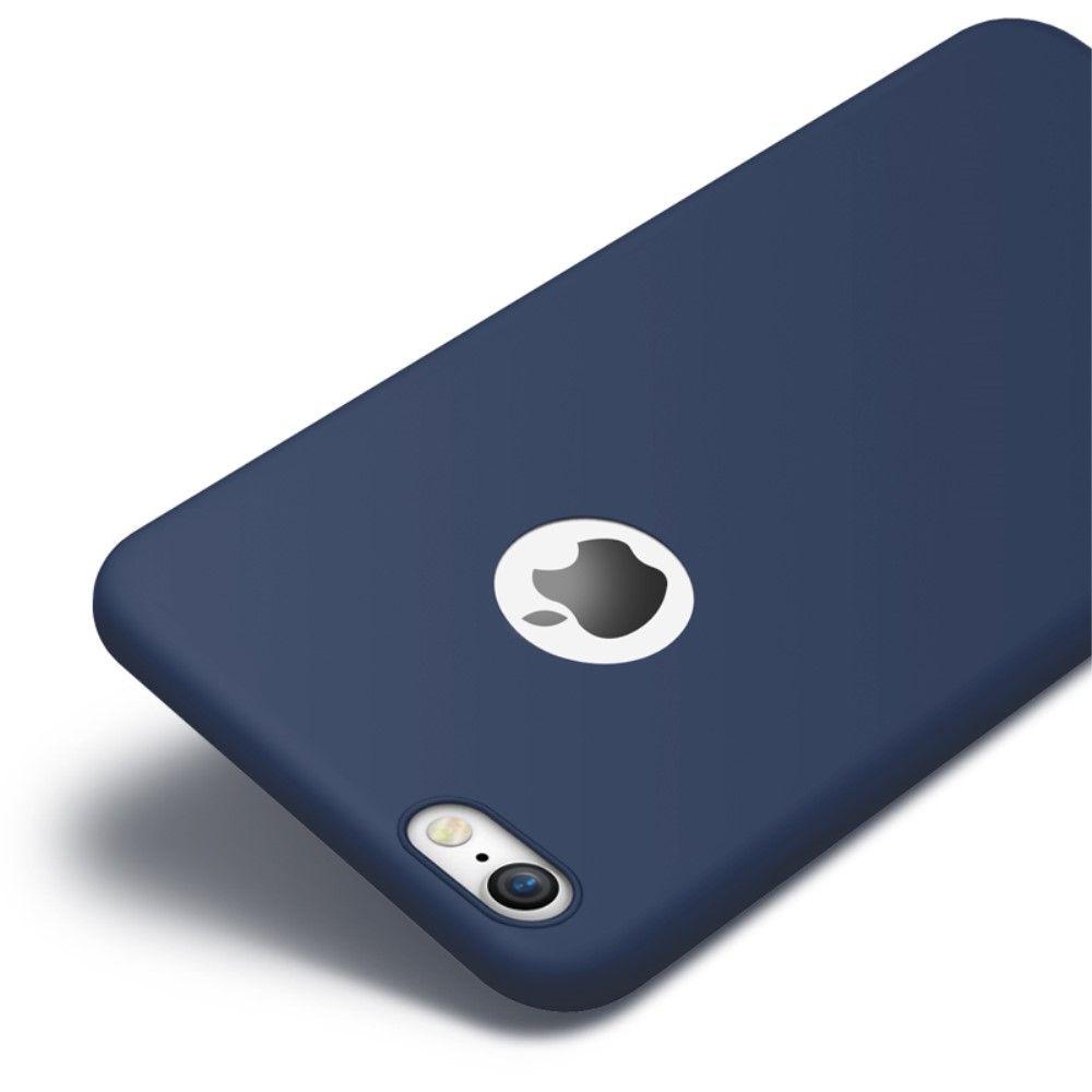Image of   iPhone 8/7 - CAFELE Frosted cover - Mørkeblå