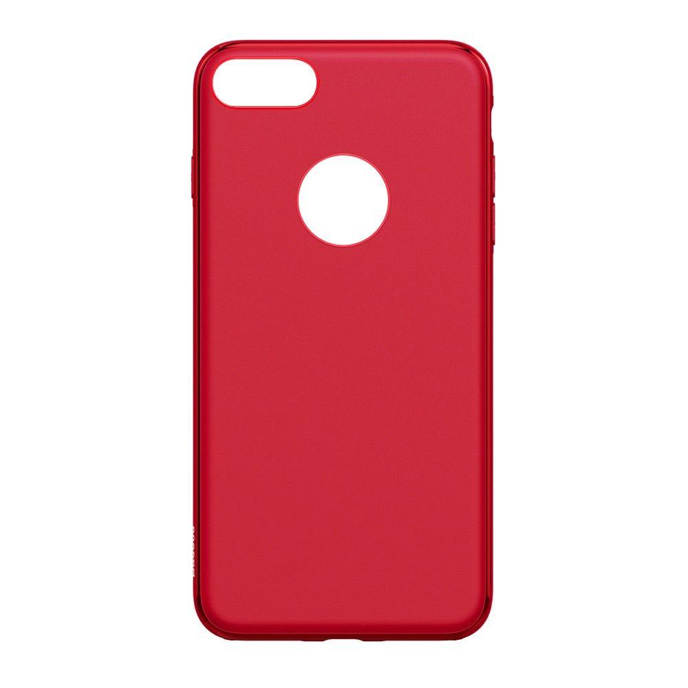 Image of   iPhone 8/7 - BASEUS Mystery TPU cover - Rød