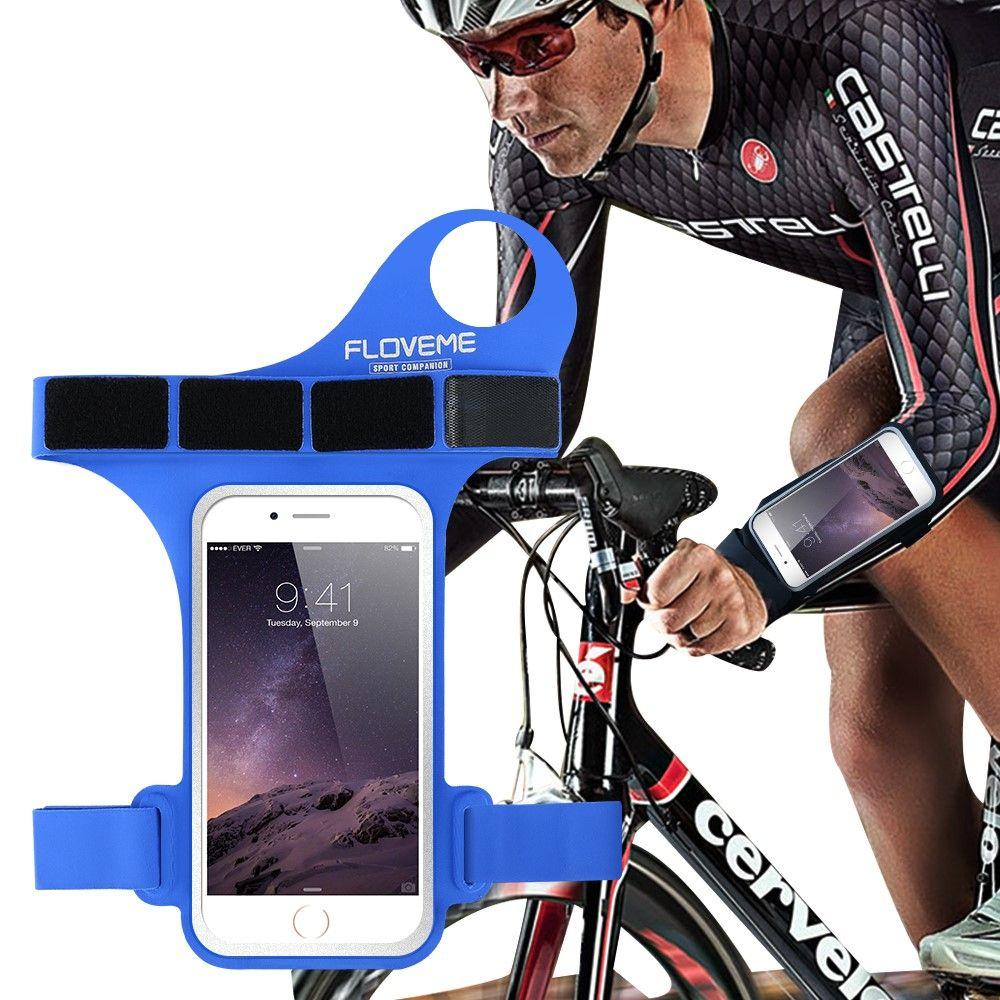 iPhone 8/7/6s/6 - FLOVEME sportsarmbånd - Blå