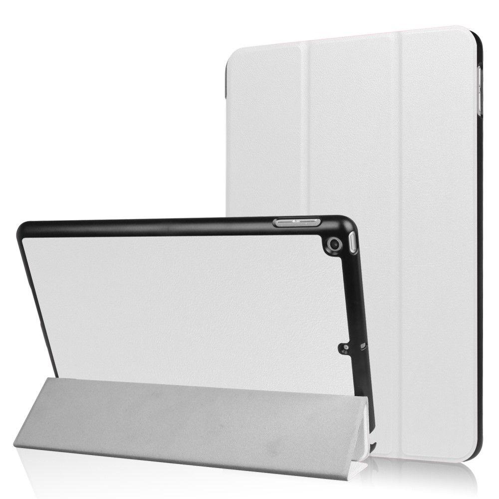 Image of   iPad 9.7 (2017) - Pu læder cover m/Tri-Fold stand - Hvid