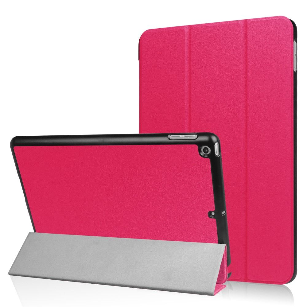 Image of   iPad 9.7 (2017) - Pu læder cover m/Tri-Fold stand - Rose