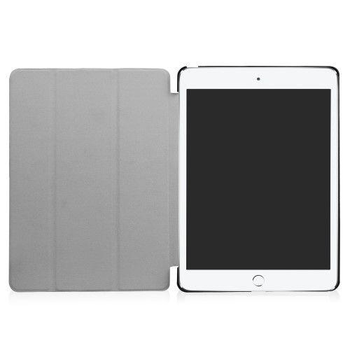 Image of   iPad 9.7 (2017) - Pu læder cover tri fold stand - Mønstret design