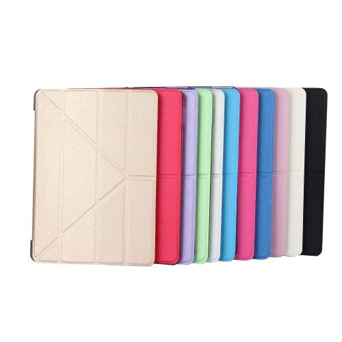Image of   iPad 9.7 (2017 / 2018) - Smart læder cover Origami - Sort