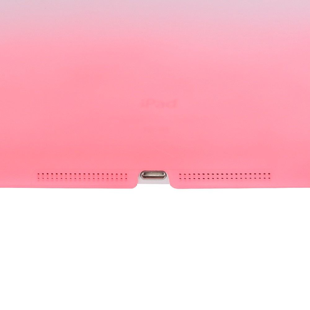Image of   iPad 9.7 (2017 / 2018) - Tri-Fold smart læder cover - Lilla/Pink