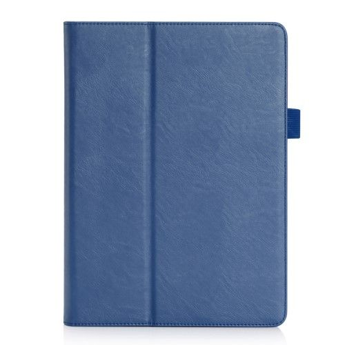 Image of   iPad 9.7 (2017/2018) - læder smart cover/etui m. sleep/wake - Blå