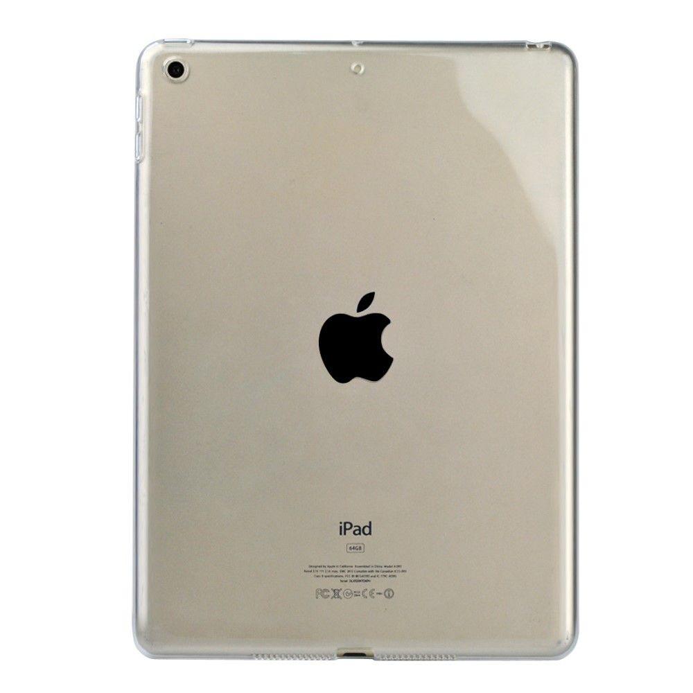 Image of   iPad 9.7 (2017 / 2018) - TPU klar blødt cover, stødsikker - Transparent
