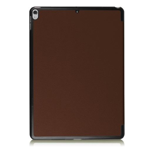 "Image of   iPad Pro 10.5"" - Pu læder cover med tri fold stand - Brun"