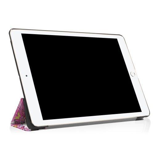 """Image of   iPad Pro 10.5"""" - Pu læder cover med print - Fe og sommerfugl"""
