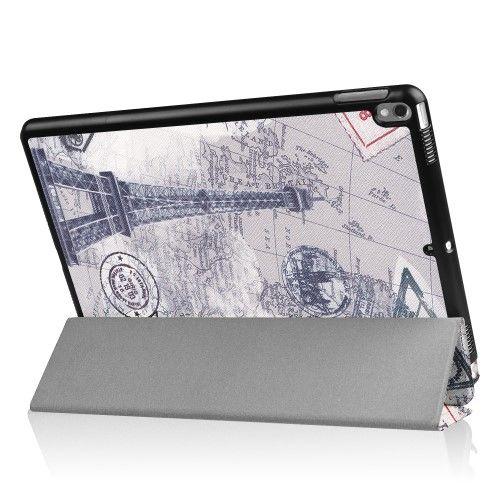 "Image of   iPad Pro 10.5"" - Pu læder cover med print - Eiffeltårnet"