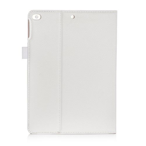 "Image of   iPad 9.7 (2017 / 2018) - Pu læder cover ""Business style"" - Hvid"
