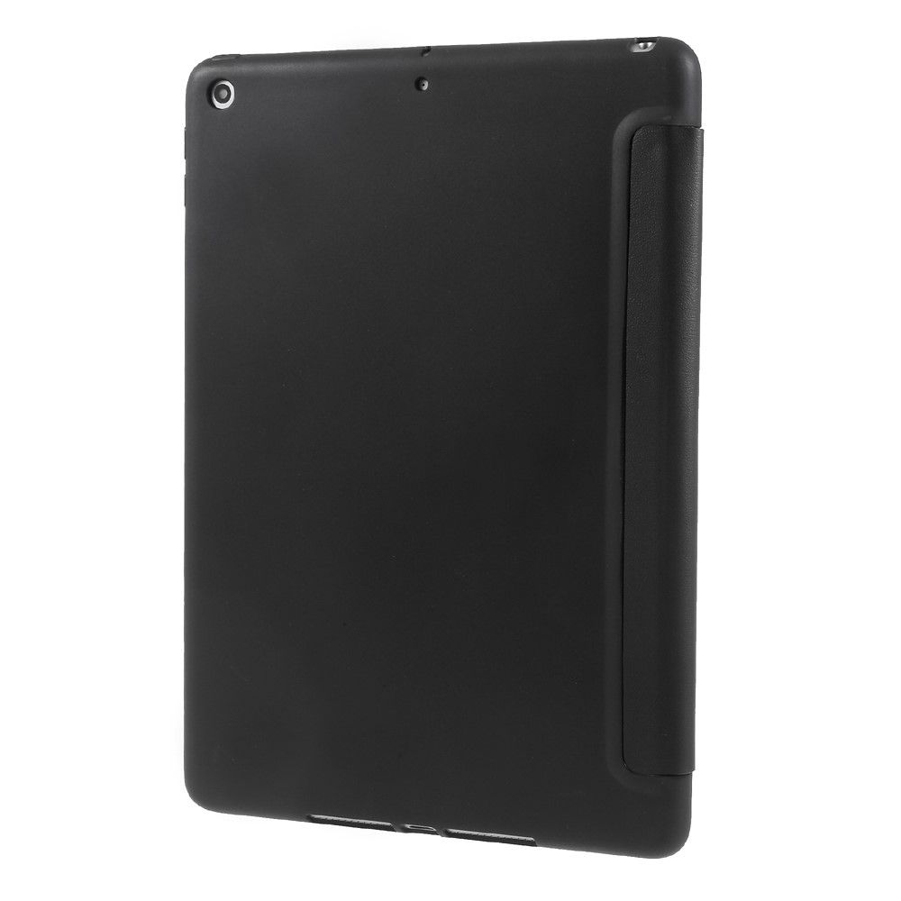 Image of   iPad 9.7 (2017/ 2018) - Læder Tri-Fold cover - Sort