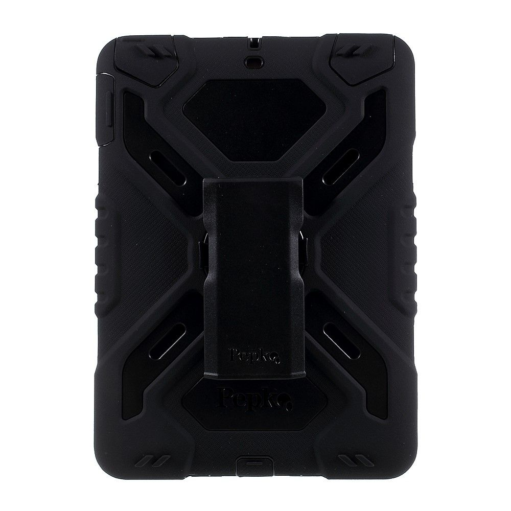 Image of   iPad 9.7 (2017) - PEPKOO Spider hybrid cover - Sort