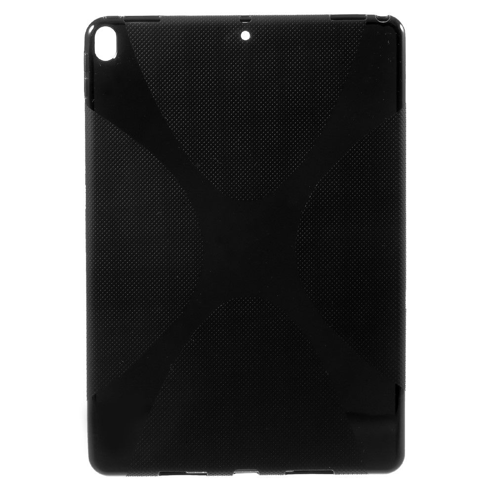 Image of   iPad Pro 10.5 - TPU cover X Shape Gel - Sort