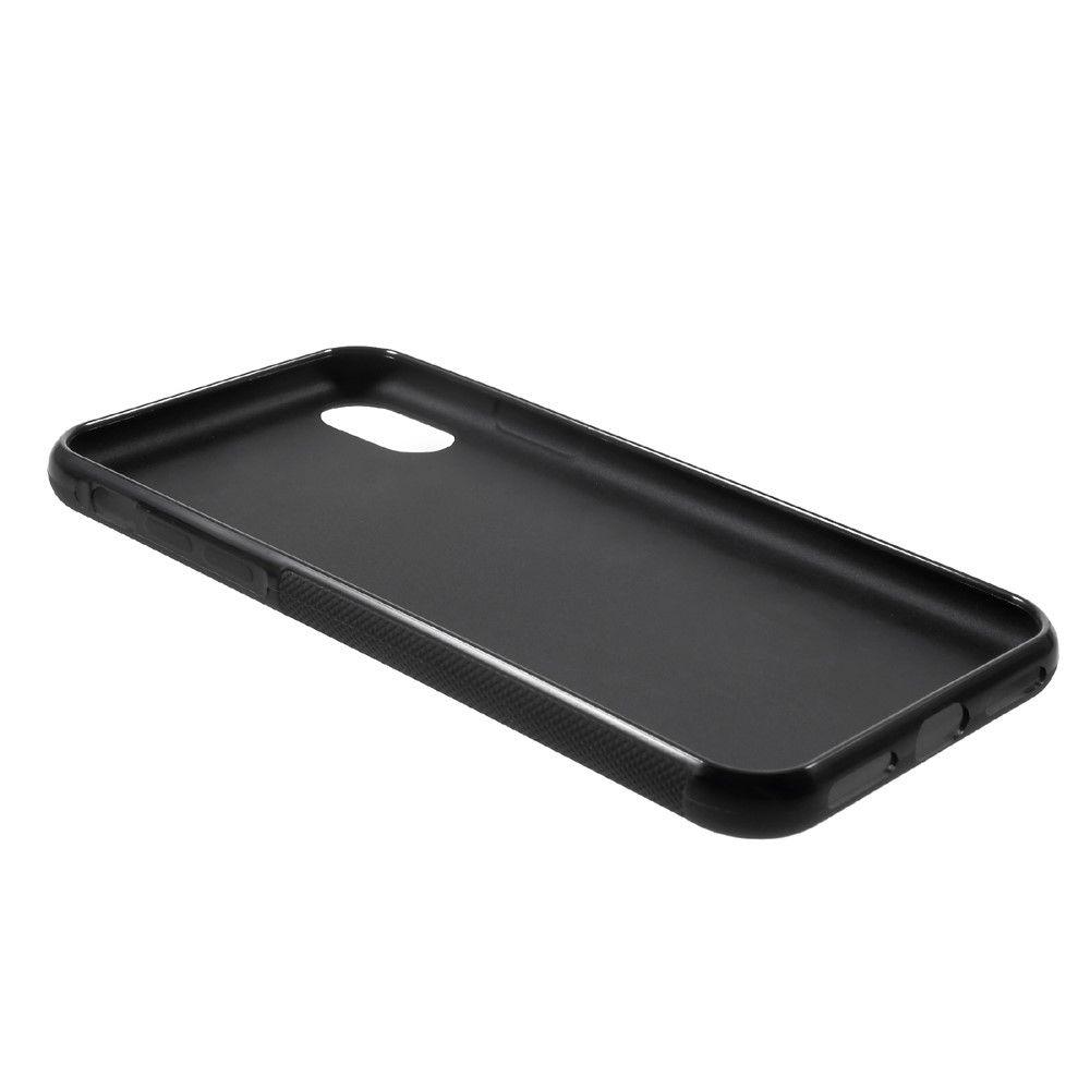 Image of   iPhone X - Anti-Slip TPU cover - Sort