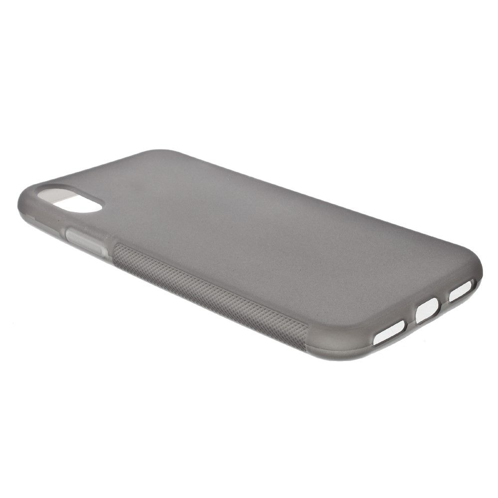 Image of   iPhone X - Non-slip TPU cover - Grå