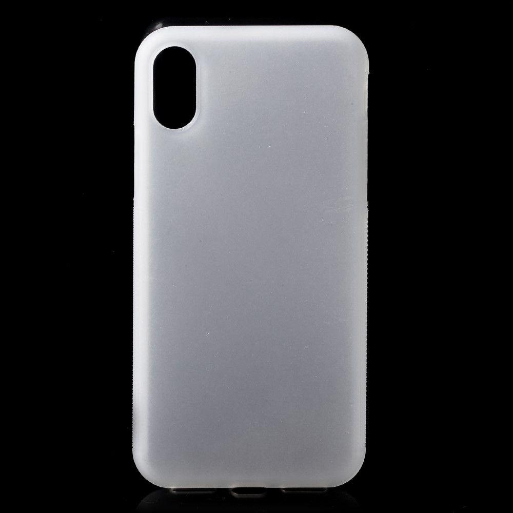Image of   iPhone X - Non-slip TPU cover - Transparent