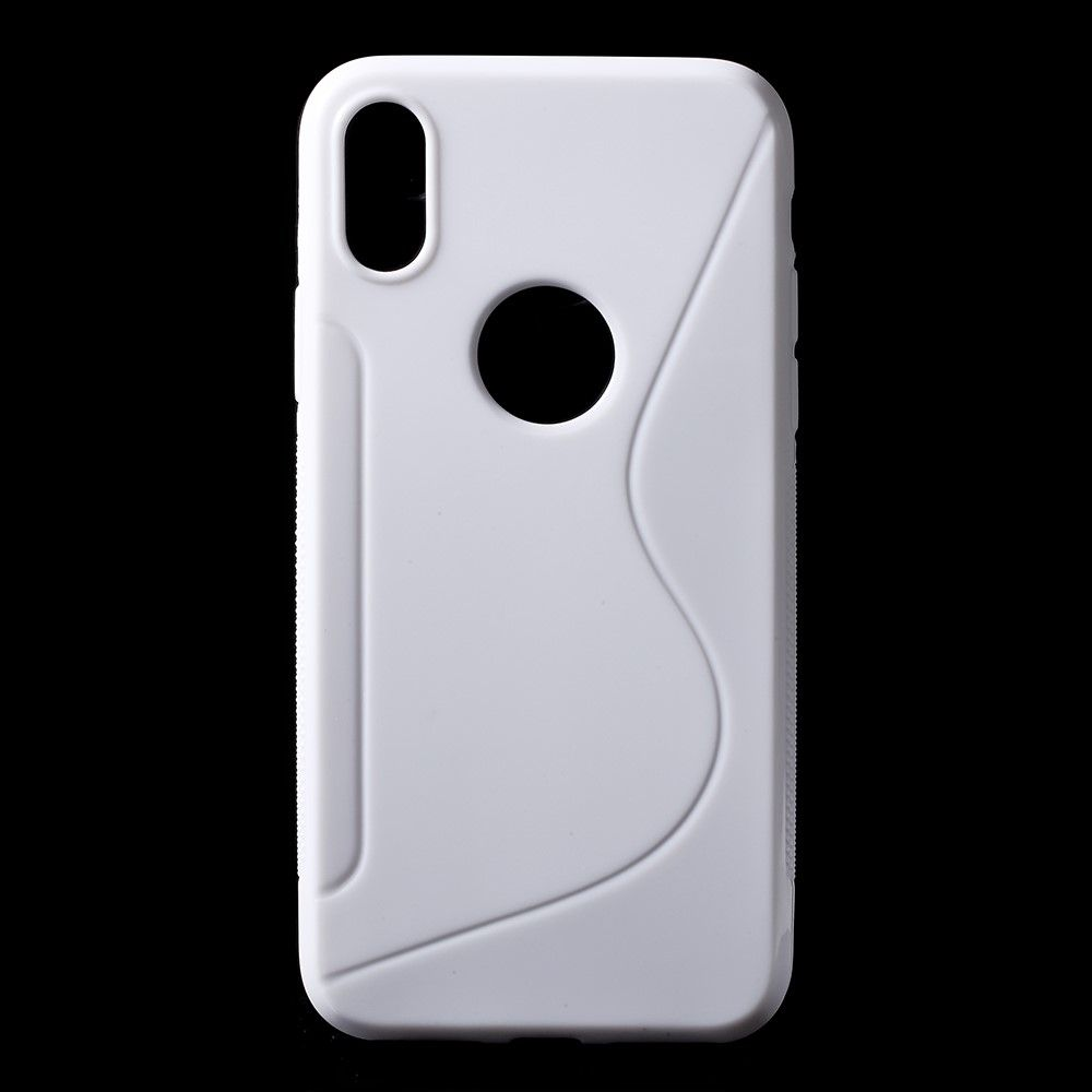 Image of   iPhone X - S-Line TPU cover - Hvid