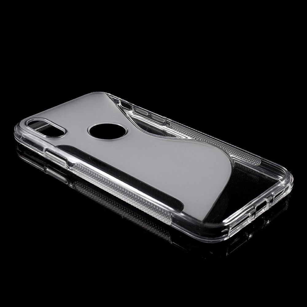 Image of   iPhone X - S-Line TPU cover - Transparent