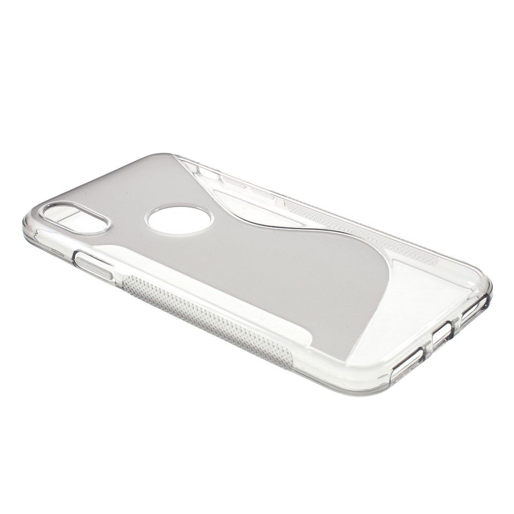 Image of   iPhone X - S-Line TPU cover - Grå
