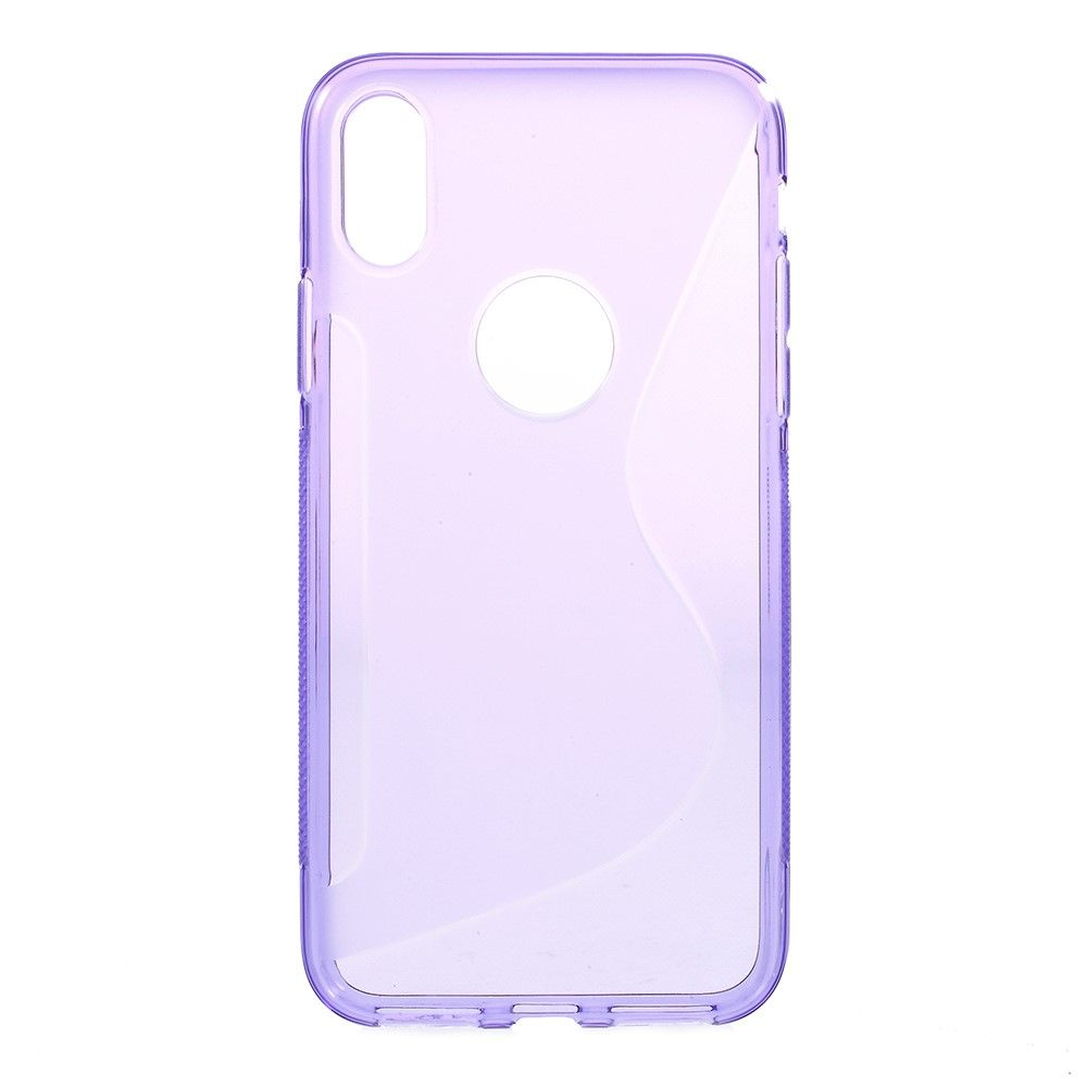Image of   iPhone X - S-Line TPU cover - Lilla