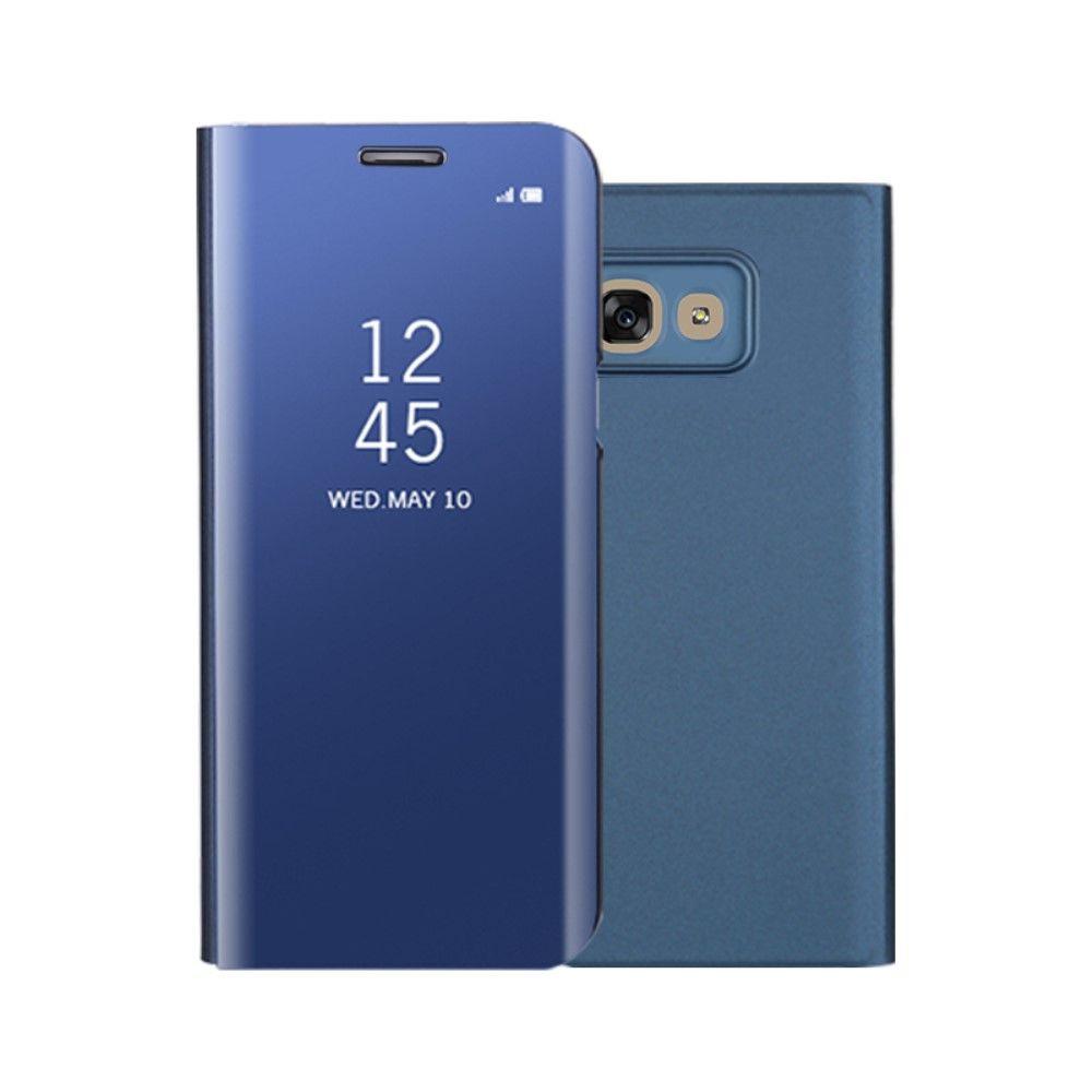 Image of   Galaxy A3 (2017) - Mirror View læder cover - Blå