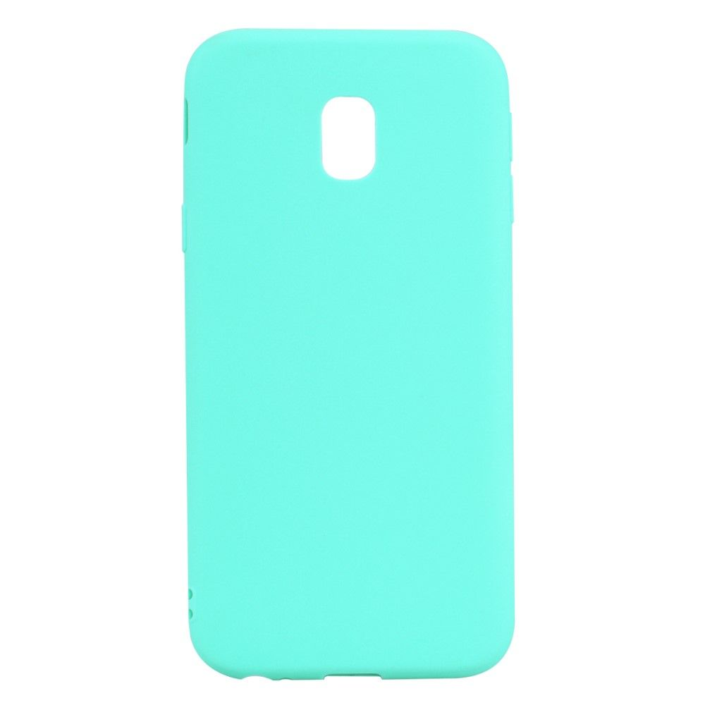 Image of   Galaxy J3 (2017) - TPU cover anti-ridse - Cyan