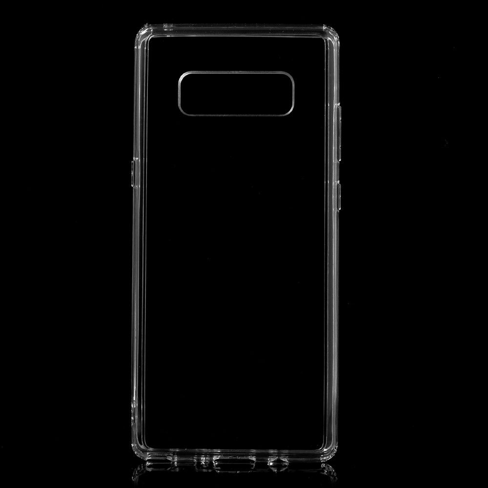 Image of   Galaxy Note 8 - TPU + akryl hybrid klart cover - Transparent