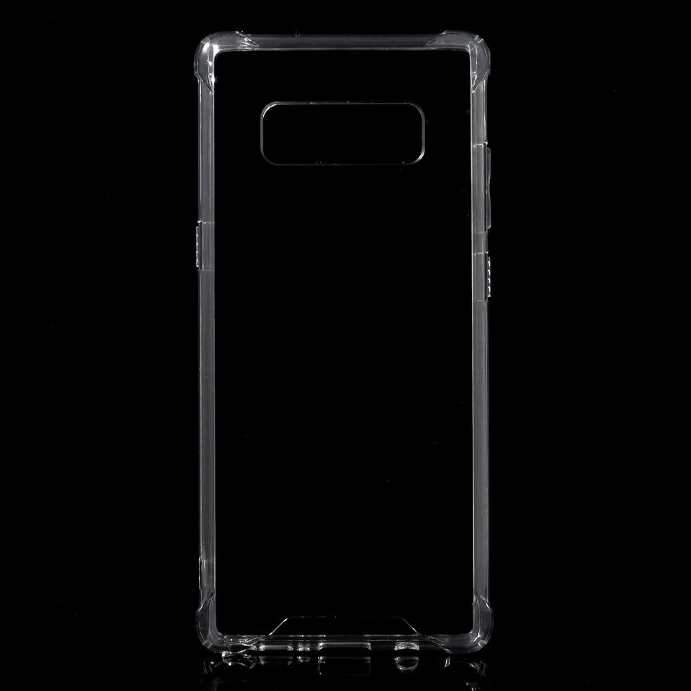 Image of   Galaxy Note 8 - TPU + pc hybrid cover anti-ridse - Transparent