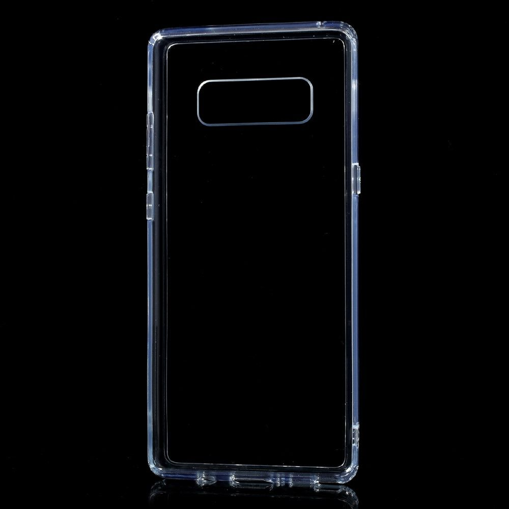 Image of   Galaxy Note 8 - TPU + pc hybrid cover stødsikker - Transparent