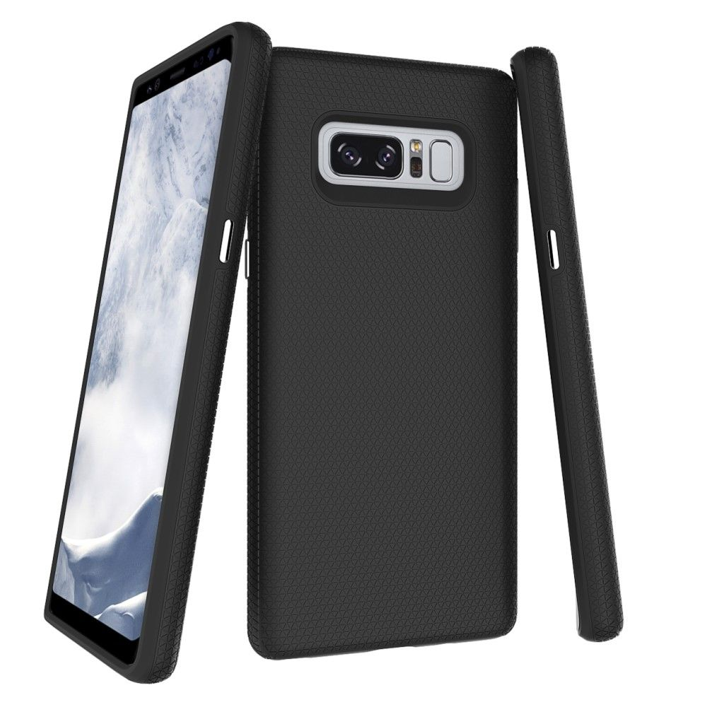 Image of   Galaxy Note 8 - Hybrid PC+TPU cover - Sort