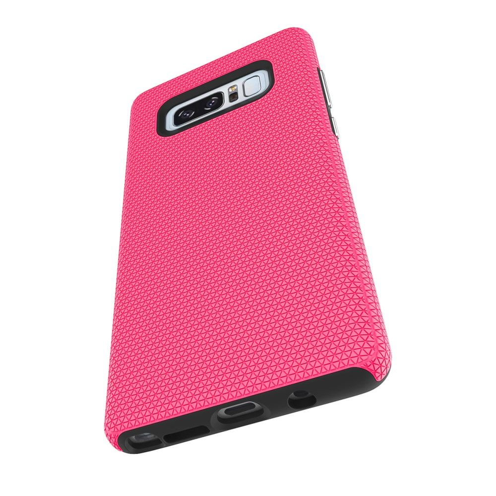 Image of   Galaxy Note 8 - Hybrid PC+TPU cover - Rosa