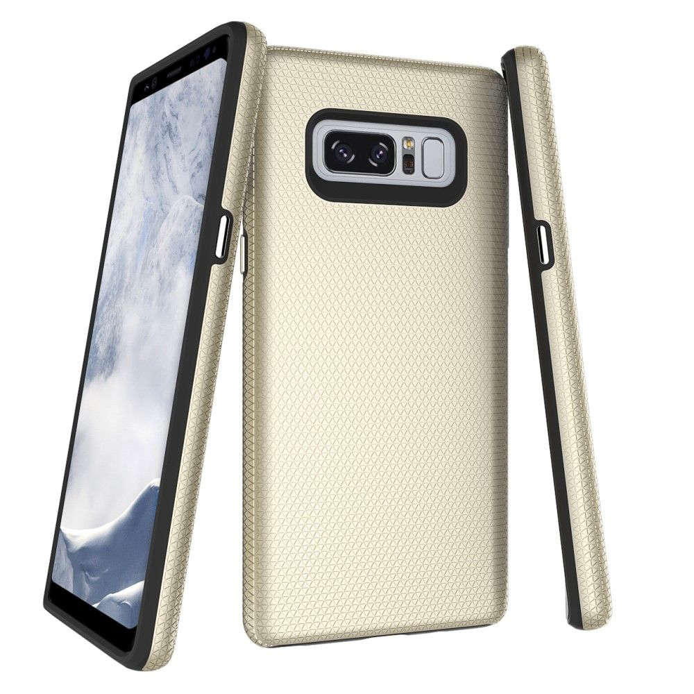 Image of   Galaxy Note 8 - Hybrid PC+TPU cover - Guld
