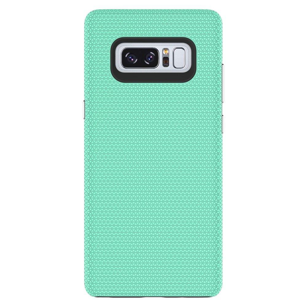 Image of   Galaxy Note 8 - Hybrid PC+TPU cover - Cyan