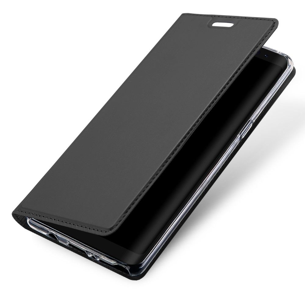 Image of   Galaxy Note 8 - DUX DUCIS Skin Pro læder cover - Grå