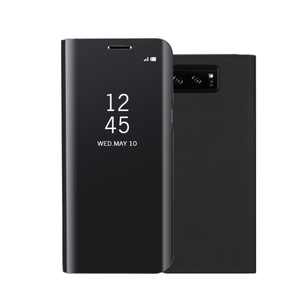 Image of   Galaxy Note 8 - Mirror View cover / etui - Sort