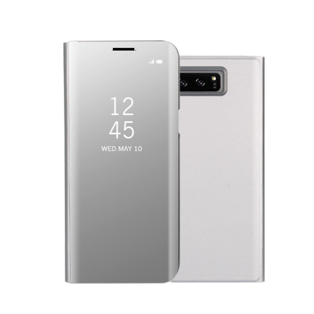 Image of   Galaxy Note 8 - Mirror View cover / etui - Sølv