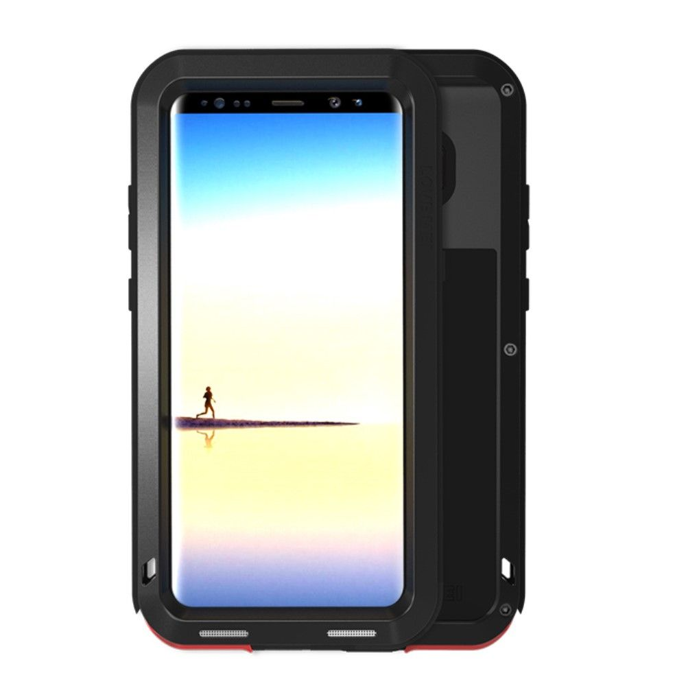 Image of   Galaxy Note 8 - LOVE MEI shockproof cover / etui - Sort