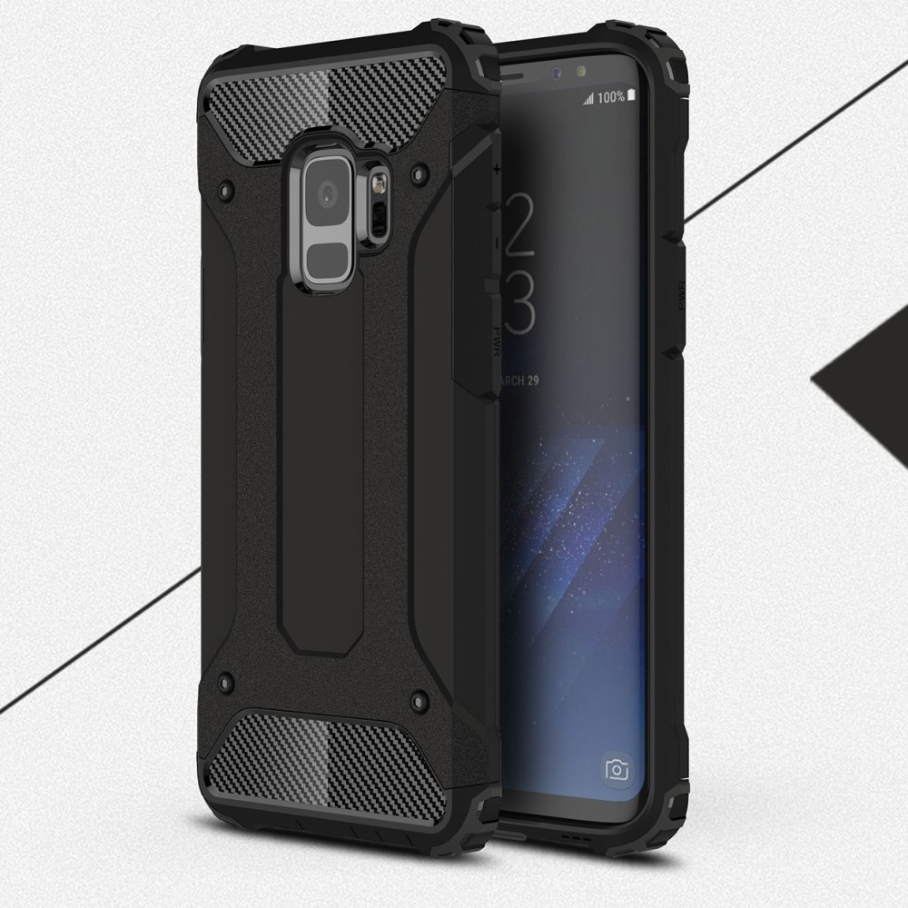 Samsung Galaxy S9 - Armor Guard Hybrid cover - Sort