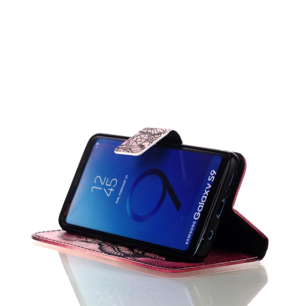 Samsung Galaxy S9 - Mønstret cover / pung - Drømmefanger
