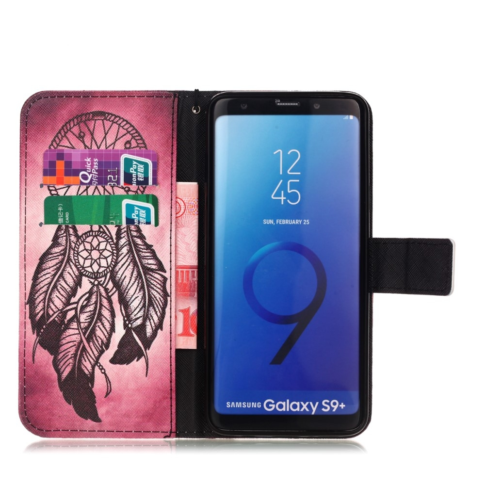 Samsung Galaxy S9 Plus - Mønstret cover / pung - Drømmefanger
