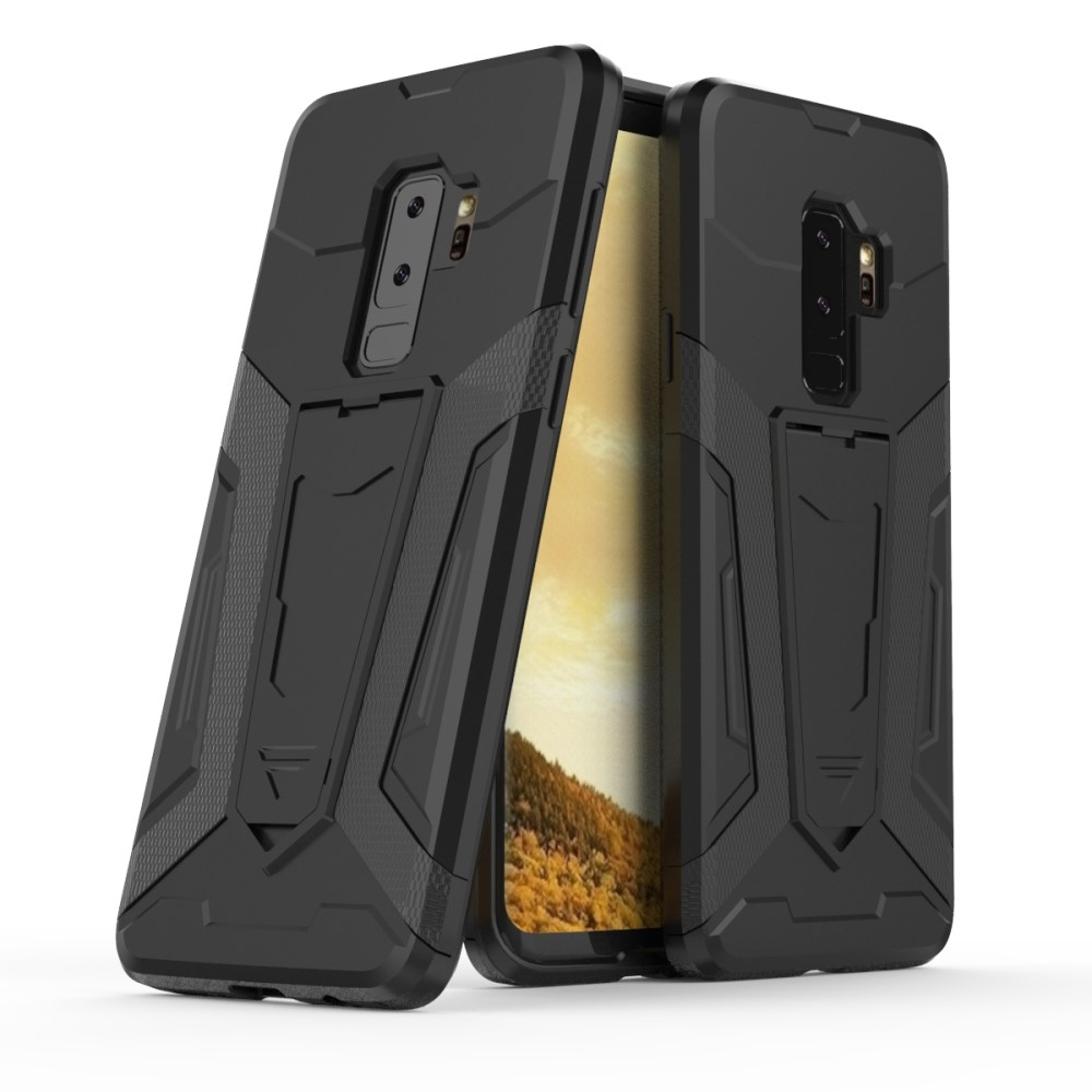 Samsung Galaxy S9 Plus - Armor Hybrid cover - Sort