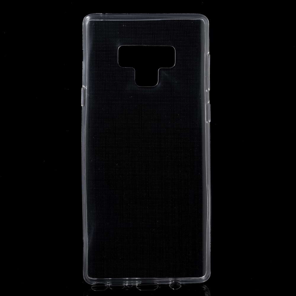 Image of   Samsung Galaxy Note 9 - Blødt gummi cover/etui - Transparent