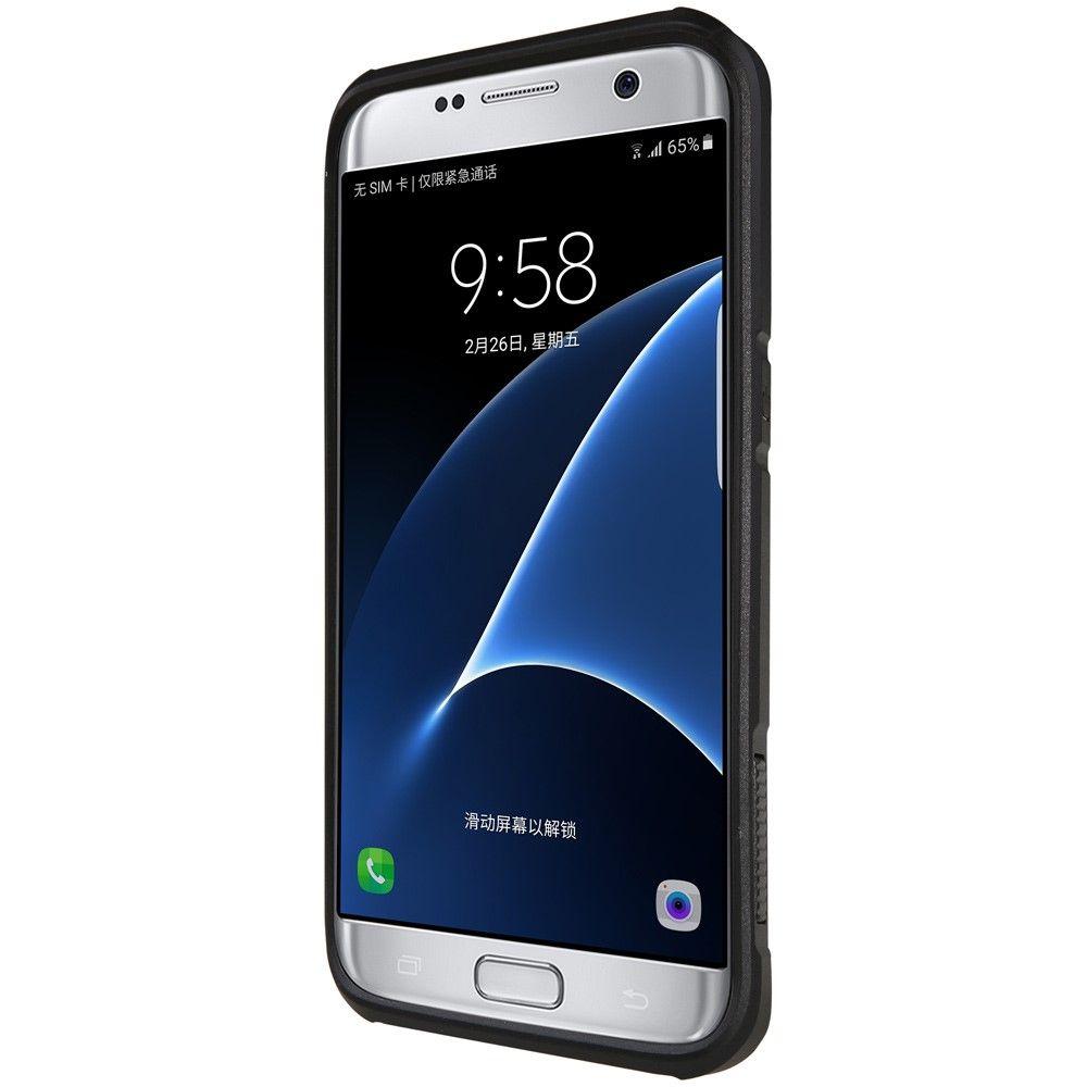 Image of   Galaxy S7 edge - NILLKIN Defender II Hybrid cover - Sort