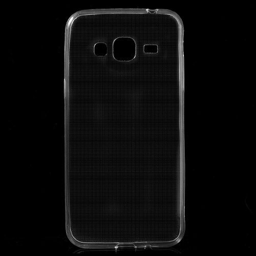Image of   Galaxy J3 / J3 (2016) - Ultratyndt Klart Gummi TPU Cover