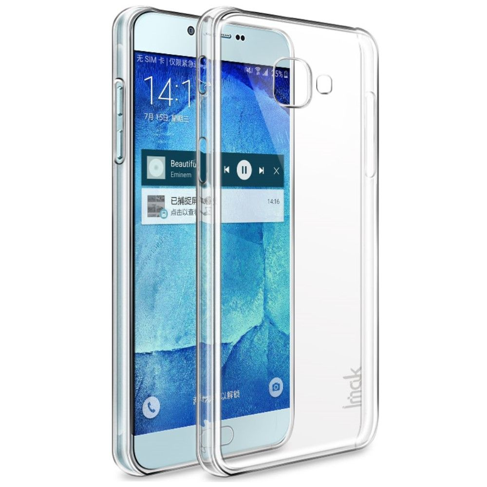 Galaxy A7 (2017) - IMAK Crystal case II Ridse resistent Hardcover - Transparent