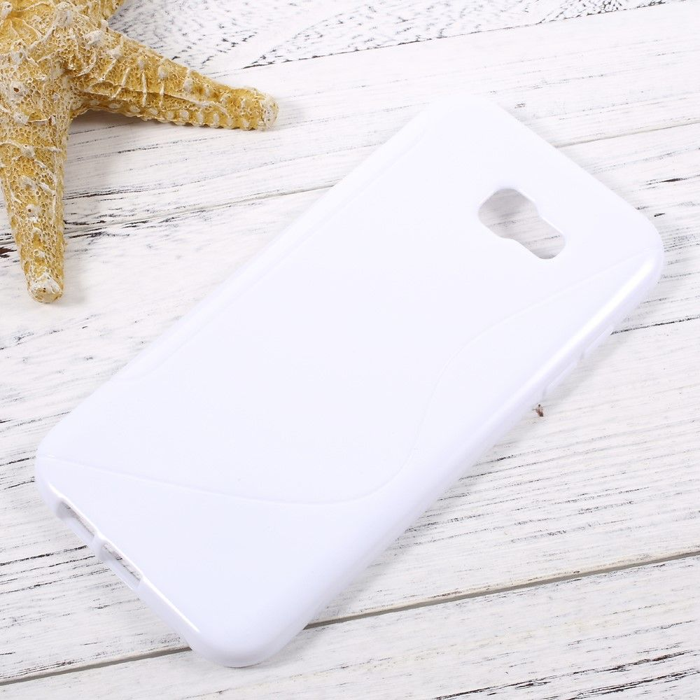 Image of   Galaxy A7 (2017) - S-line TPU Cover - Hvid
