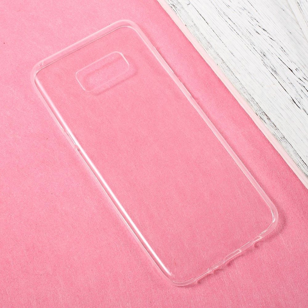 Image of   Galaxy S8 Plus - TPU ultratynd etui/Cover - Transparent